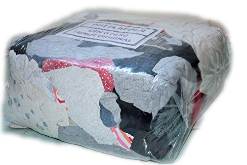 Trikot original Standart 30 kg Premium Industrieputzlappen Putzlappen Baumwolle Putztücher geschnitten nach DIN 61650