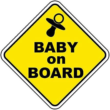 Baby On Board Vinyl Auto Aufkleber Van Truck Bike Stoßstange Aufkleber Sicherheitszeichen Vorsicht Zeichen Für Neue Eltern Und Baby Baumarkt