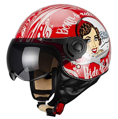 Casco De Moto 62cm marca Faseed