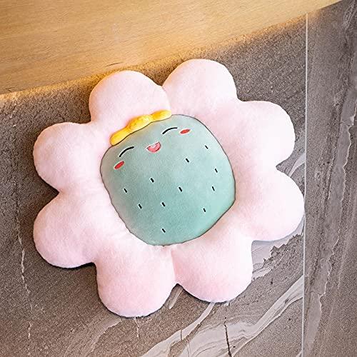 Cuscino peluche piccolo fiore margherita cuscino cuscino peluche pianta morbida per bambini