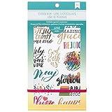 American Crafts 1292 Piece Faith Sticker Books