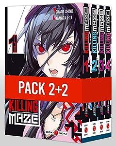 Killing Maze Pack série complète Tomes 1 à 4