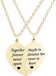 together forever never apart necklace