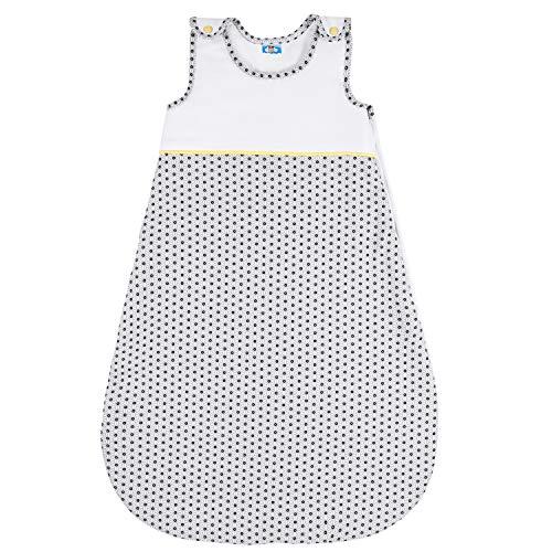 Sweety Fox - Babyschlafsack - 100% Biobaumwolle - Unisex - OEKO TEX - Schlafsack Baby TOG 2.5, Größe 80cm (6-12 Monate) - Baby Stars