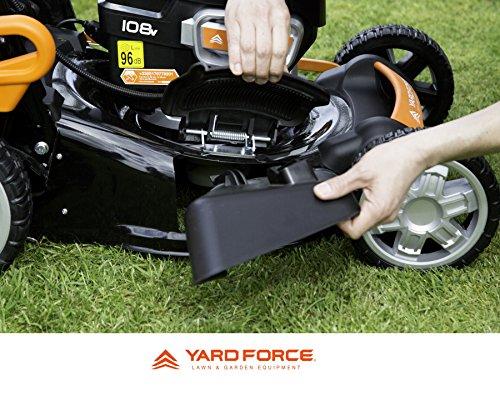 Yard Force 108V Li Side Discharge
