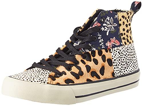Desigual Shoes_Beta_Animal, Zapatillas Mujer, marrón, 41 EU