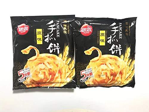 思念原味手抓餅 【2点セット】インド風味ネギパンケーキ 450g×2点