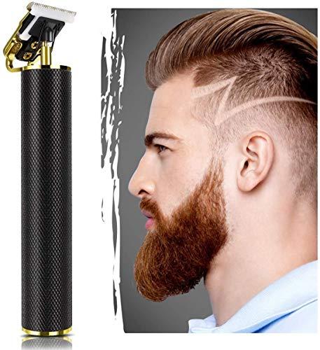 LBYLYH Tondeuse électrique Outliner pour Les Kits de toilettage Coupe Fermer la Batterie T-Blade Cut zéro écart Bald Head Barbe des Hommes Rasoir Barber Shop