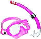 Aqua Lung Sport Reef DX-Maske- und Schnorchel-Set, Unisex, Rosa