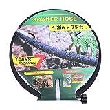 Taisia 1/2 inch Soaker Hose 75ft Lead Free Saves...