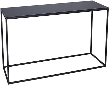 Amazon.es: mesa consola cristal - Metal / Muebles: Hogar y ...