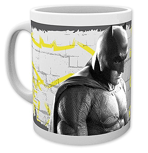 Batman vs Superman Tasse - Wanted/Kaffeetasse aus Keramik, Bedruckt