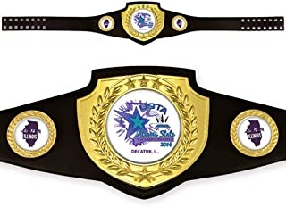 Custom Award Belt