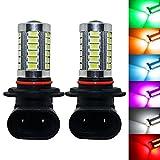YaaGoo bright fog lights LED DRL bulbs,red,H10