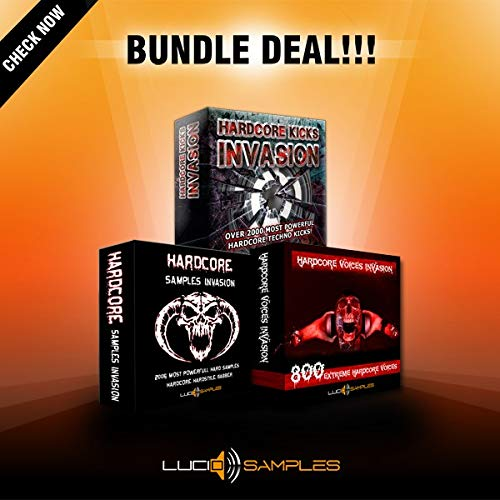 Hardcore Invasion Bundle - Tools for Hard Techno Music Production DVD non BOX