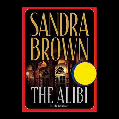 The Alibi audiobook cover art