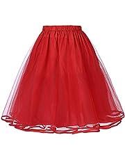Belle Poque Retro vintage swingklänning krinolin underkjol kjolar