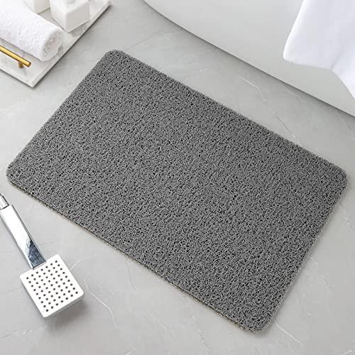 Non Slip Bathtub Mat,Shower Mat for Bathroom,Soft Loofah Tub Mat for Wet Areas,Quick Drying, 16'x 24'