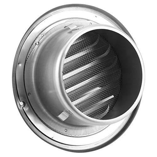 Cubierta de conductos de ventilación, ventilación de aire ajustable de acero inoxidable para la casa, resistente para ventilador de extracción