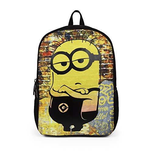Mojo Life Despicable Me Minions'Cool Dude' Backpack School Bag for Boys