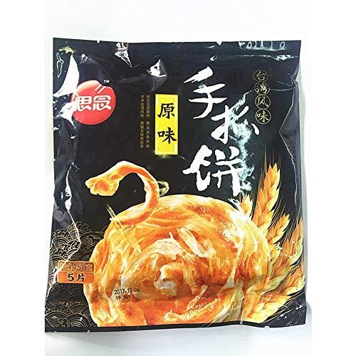 思念原味手抓餅 インド風味ネギパンケーキ 5枚入り 450g