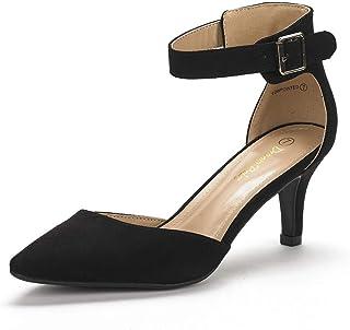 fd63b23c57dd Amazon.es: zapatos tacon bajo - Negro