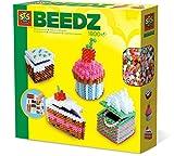 SES Creative- Perles à Repasser-Gâteaux en 3D-Beedz, 06258