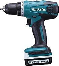 Makita DF347DWE Taladro, 14.4 W, 14.4 V, Negro, Azul