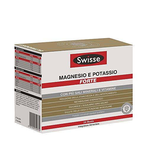 PROMO 2 CONFEZIONI SWISSE MAGNESIO E POTASSIO FORTE 24+24 Bustine