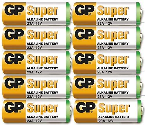 GP 23A / MN21 12 Volt (12v), 10Stück Batterien Alkaline 23AE 12V