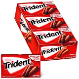 Trident Cinnamon Sugar Free Gum, 12 Packs of 14 Pieces (168 Total Pieces)
