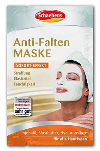 Schaebens Anti-Falten Maske, 10er Pack (10 x 10 ml)