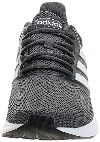 adidas Runfalcon, Zapatillas de Running para Hombre, Gris (Grey Six/ Footwear White/ Core Black), 44 EU