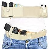 GY Mano Derecha/Izquierda Banda táctica Belly Pistola Pistola Holster para Glock Beretta 92 PX4 Serie Strom Revólver La mayoría de Las Pistolas Defensa (Size : 50in)