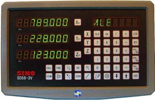 SINO Digitalanzeige für Werkzeugmaschinen / Zur Darstellung von vier Achsen / Typ SDS6-3V4