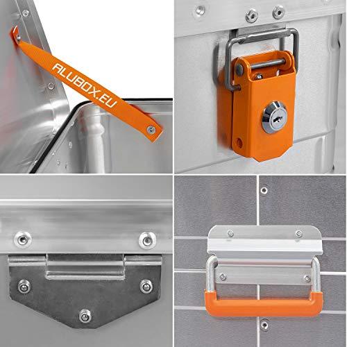 ALUBOX B184 - Aluminium Transportbox 184 Liter, abschließbar - 5