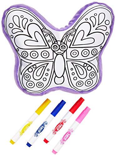 Roymart-Set para Pintar TU Propio COJIN Cuaderno y Libros para Colorear, Color (Multicolor) (CD-0642)