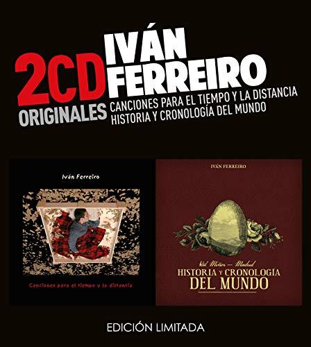 Ivan Ferreiro -Canciones Para El Tiempo Y La Distancia  /  Historia Y Cronología Del Mundo  (2 CD)