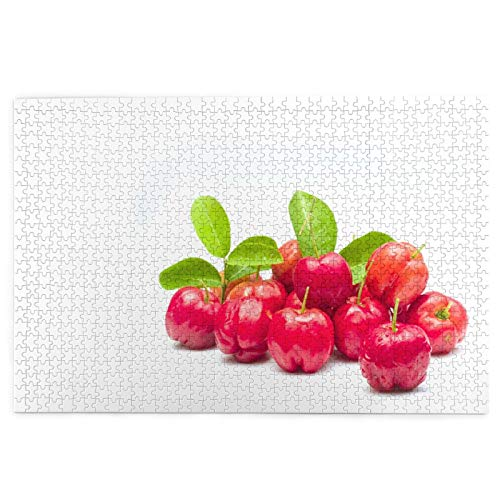 LINARUBE 1000 Pieces Jigsaw Puzzles for Adults Kids,Acerola Cherry Garden,Picture puzzle,Serise Puzzles for Kids Educational Toys Game Jigsaw Puzzles Home Decor