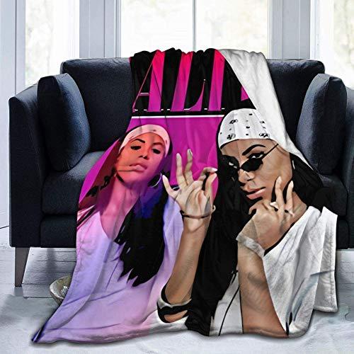 Edredones Manta Aaliyah Ultra Suave Microfleece Felpa Manta Super Cozy All Season Premium Bed Blanket & iuml & frac14 & OElig Adecuado para Todas Las Salas de Estar, dormitori