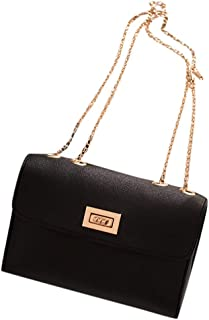 Waymine Women's Shoulder Bag Small Backpack Letter Purse Solid Mobile Phone Coin Pocket Messenger Bag