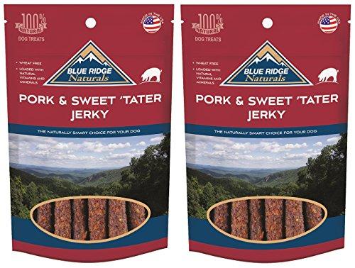 Blue Ridge Naturals (2 Pack) Pork and Sweet Potato Jerky - 12 oz