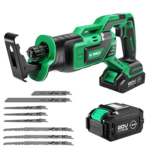 Kimo 20V Brushless Cordless Reciprocating Saw