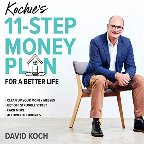 Kochie's 11-Step Money Plan for a Better Life audiobook cover art