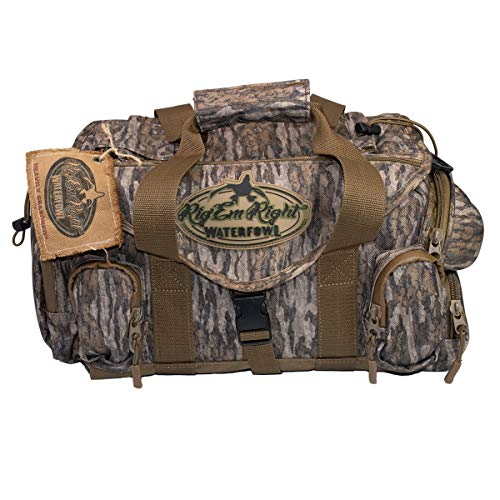 Rig'Em Right Shell Shocker Blind Bag Mossy Oak Bottomland