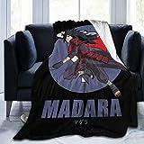 Vdaras Fleece Blanket Throw N-Arut-O Uchiha Madara Plush Throw Blanket