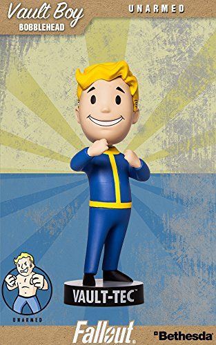 Fallout 4:Bobblehead 111 - Figura Coleccionable de Vault Boy, Serie Dos: fuerzaDesarmado