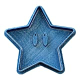 Cuticuter Mario Bros Ausstechform Stern, blau, 8x 7x 1.5cm