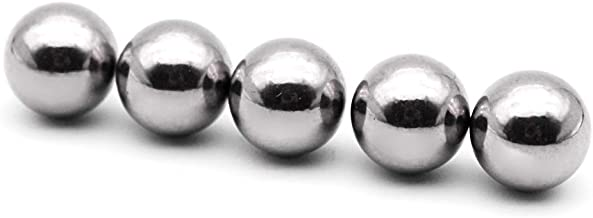 Annietfr 9/16 Inch Replacement Balls Stainless Steel 304 Ball Marbles for Mouse Trap Board Games (5 pcs)