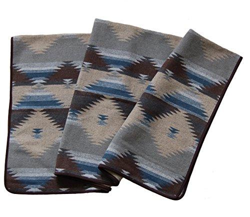 RUTH&BOAZ Outdoor Wool Blend Blanket Ethnic Inka Pattern